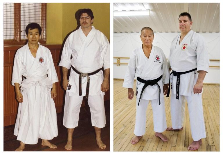 Simon Oliver and Yamazaki Sensei