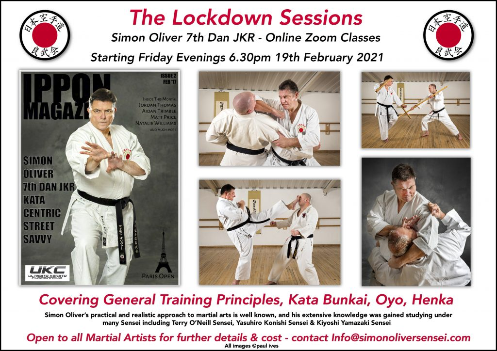 Lockdown Zoom Karate