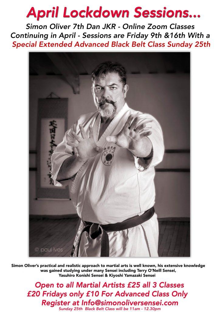 Lockdown Karate Sessions