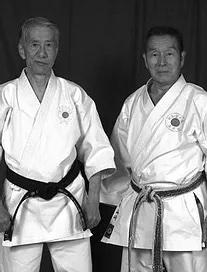 Takehiro Soke and Yamazaki Sensei